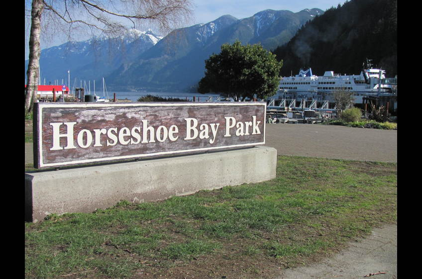 Horseshoe Bay Park, West Vancouver. 3 minute walk from Ferry Walk House.