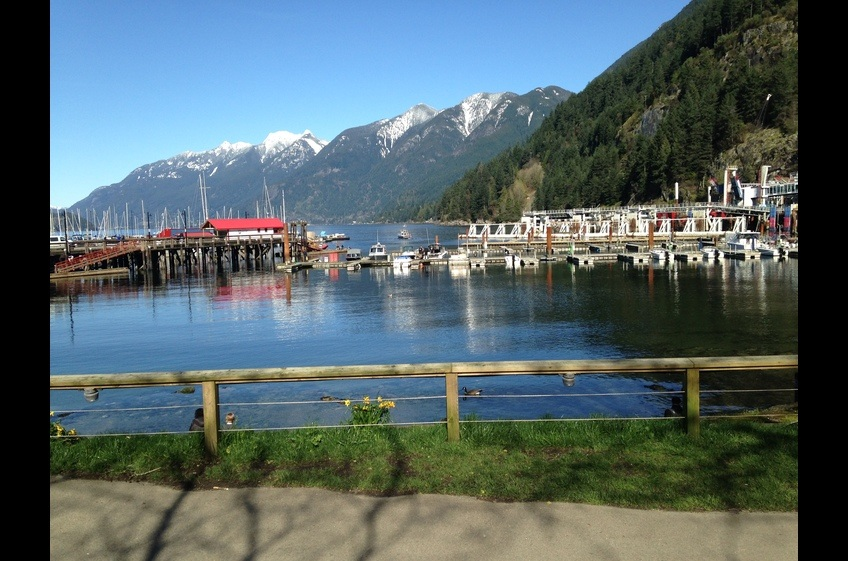 Ferry Terminal at Horseshoe Bay, West Vancouver. Take a ferry to Bowen Island for the day